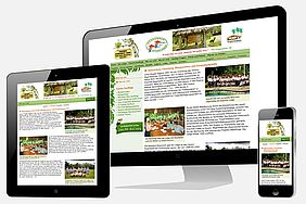 Tourismus: Website Esquinas Lodge Responsive Web Design
